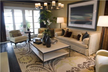 Living Room Staging Tips